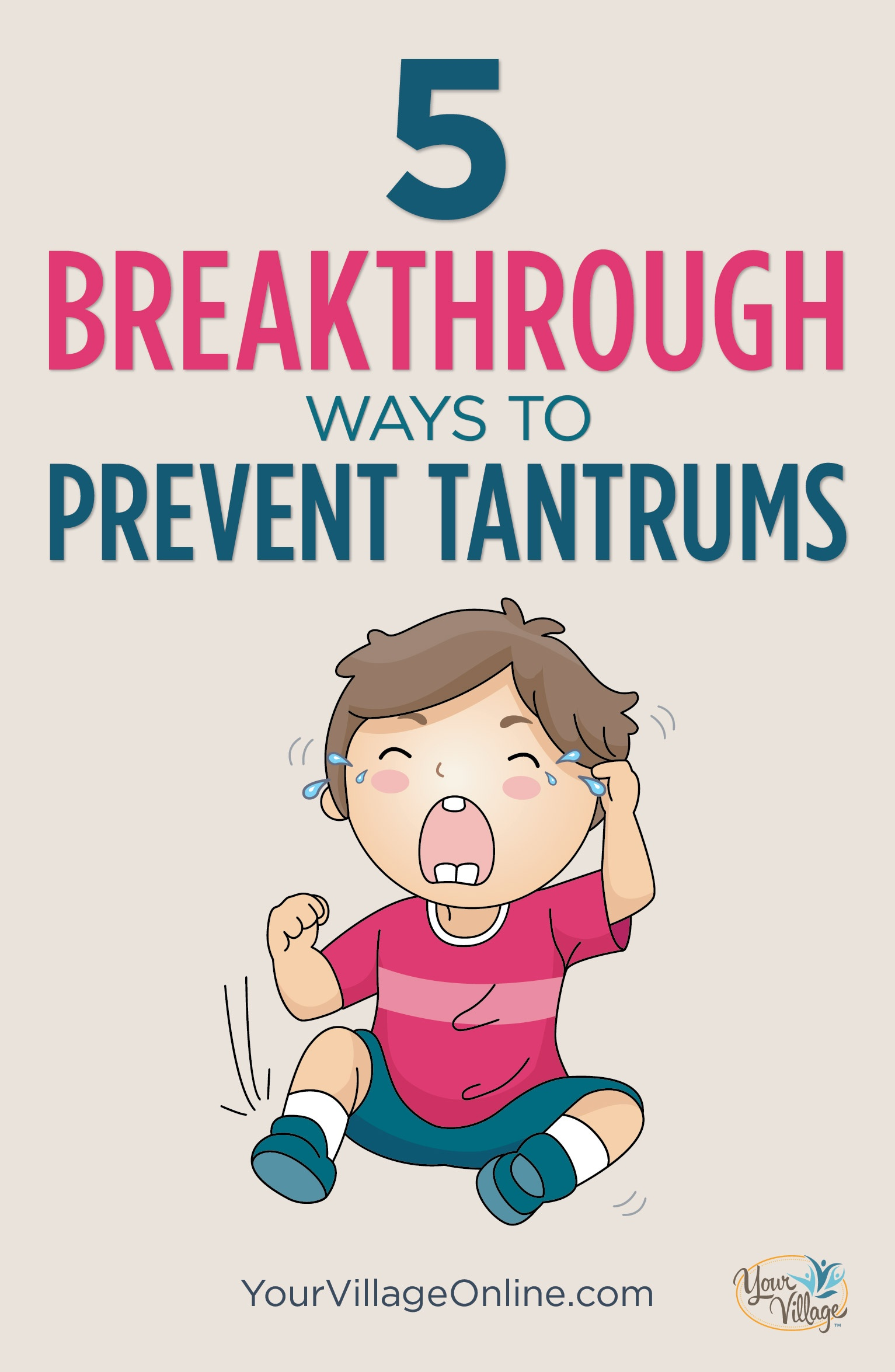 How to deal with embarrassing toddler tantrums in public
